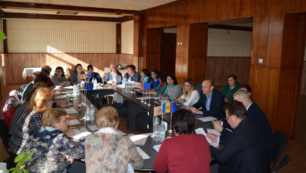 Conferința de dare de seamă și alegeri în asociația sindicală Leova