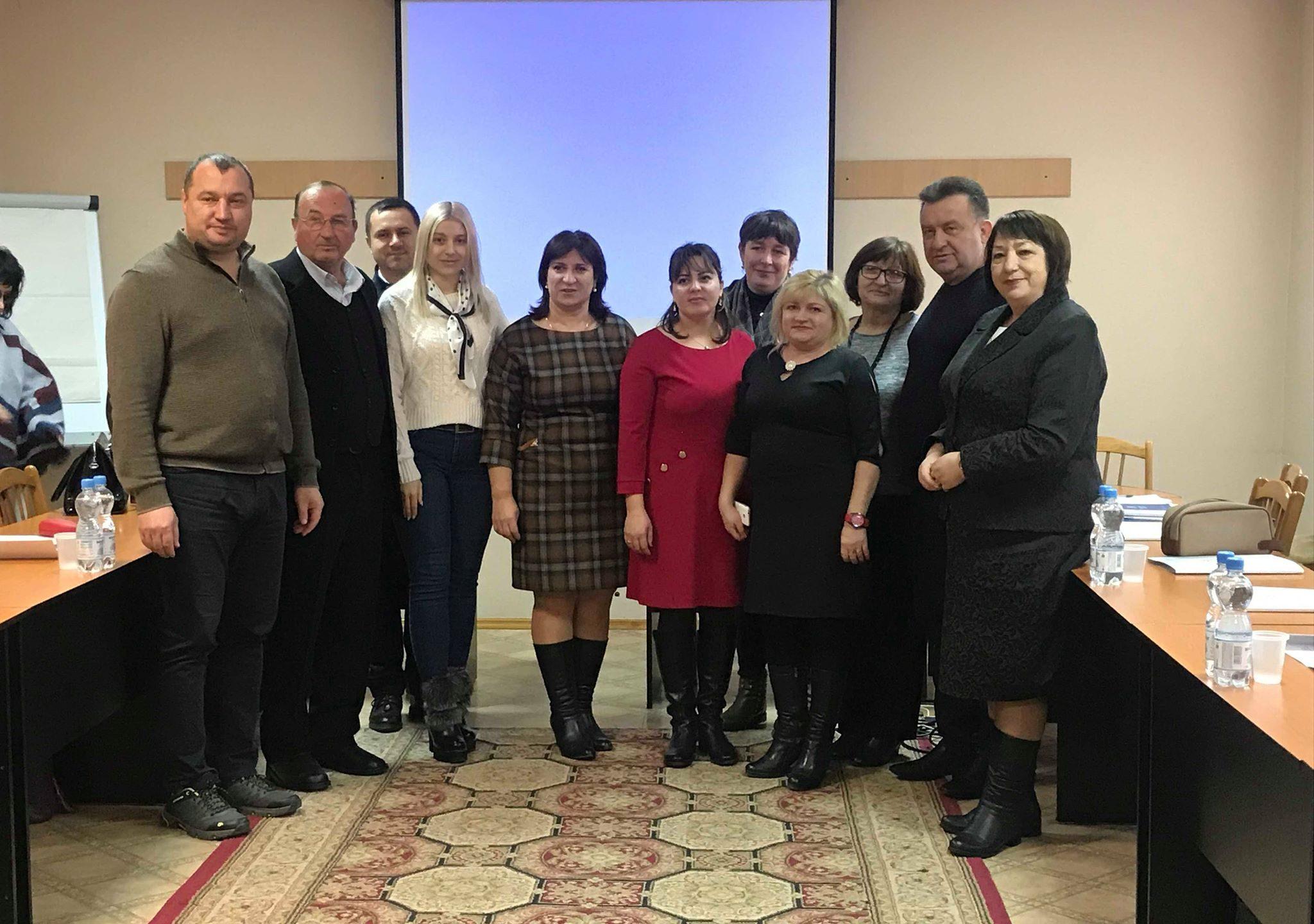 Sindicaliștii din ramura serviciilor publice din raionul Cantemir au fost instruiți despre dialogul social și managementul sindical