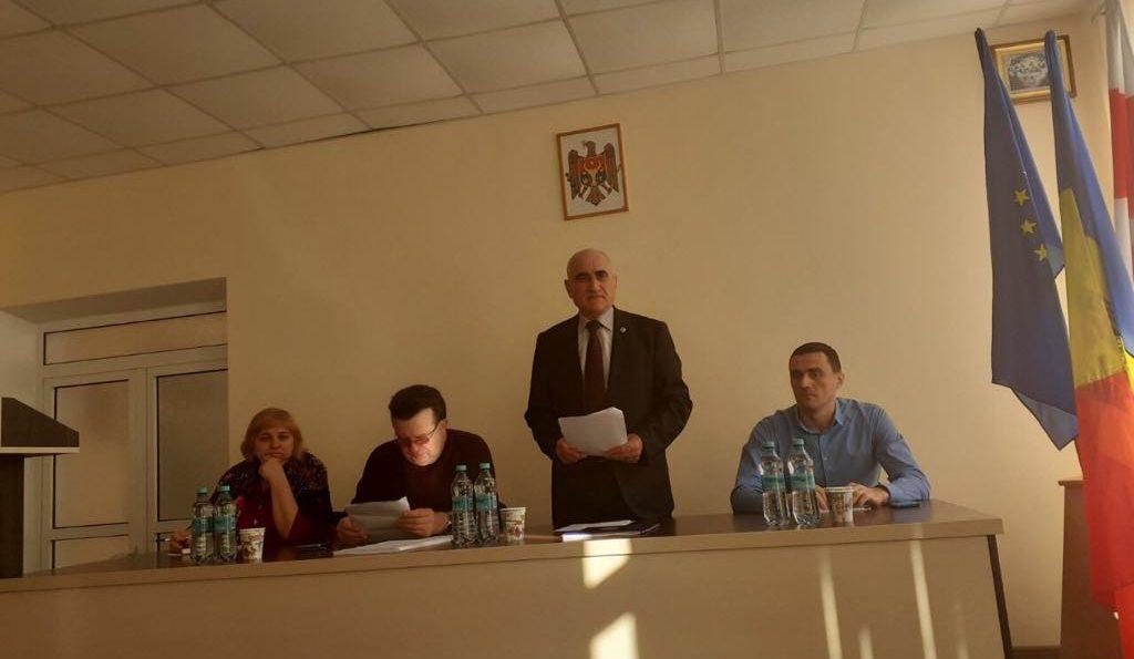 Conferința de dare de seamă și alegeri în asociația sindicală Căușeni