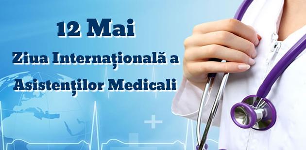 Mesaj de felicitare cu ocazia Zilei Internaționale a asistentului medical
