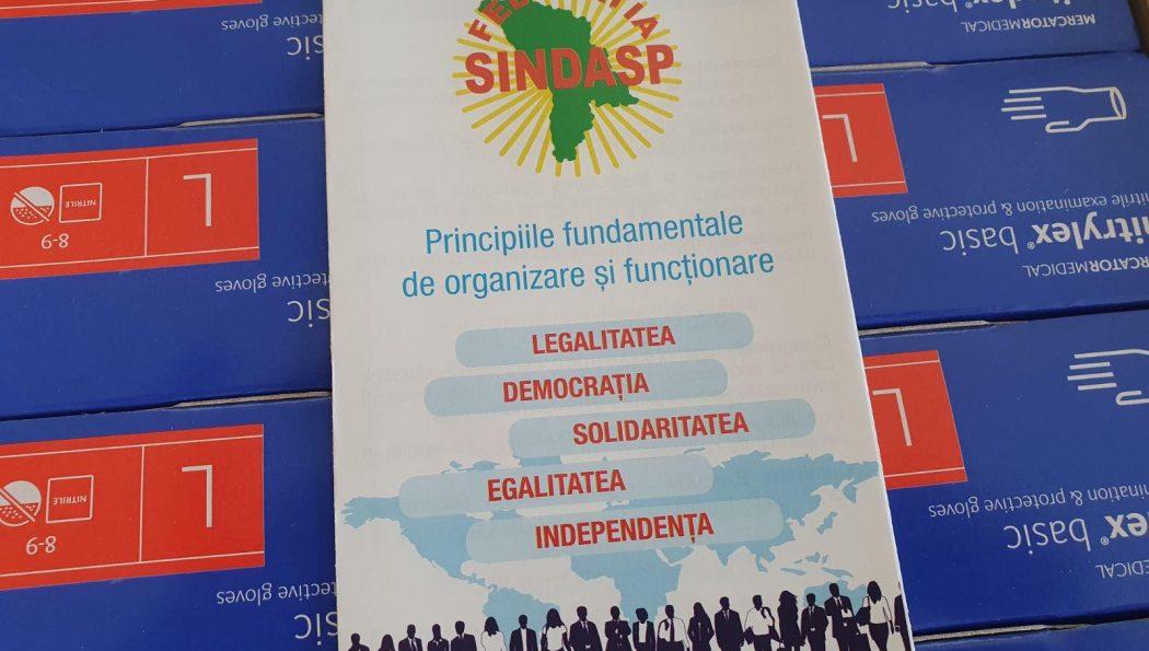 Ultimă oră! Campania de susținere a membrilor săi de sindicat în lupta cu Covid-19, desfășurată de Federația Sindicatelor Angajaților din Serviciile Publice (SINDASP) continuă