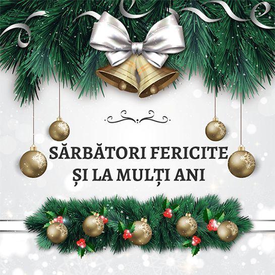 Mesaj de felicitare cu prilejul sărbătorilor de iarnă