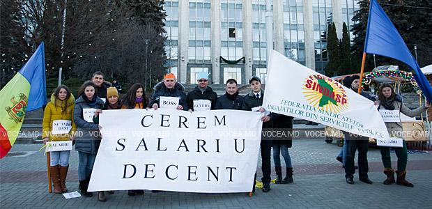Flashmob, organizat de Consiliul de Tineret al Federației SINDASP, 07.12.2016