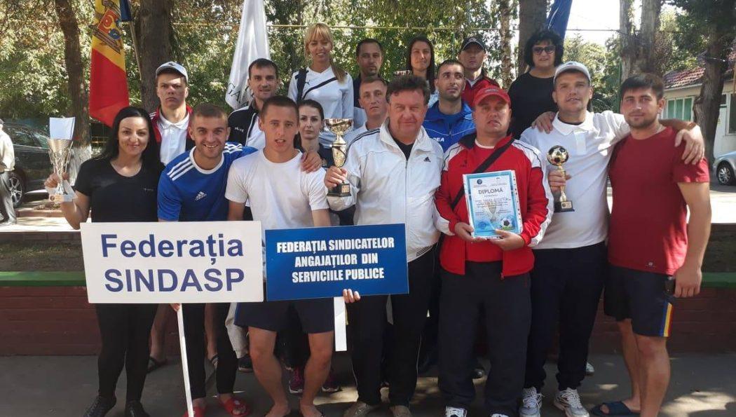 Federația Sindicatelor Angajaților din Serviciile Publice a participat activ la cea de-a V-a ediție a Spartachiadei CNSM